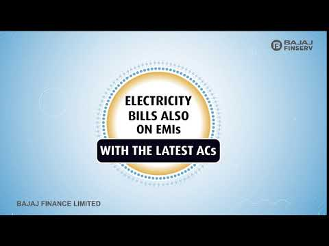Electricity Bills Also on EMIs with the Latest ACs