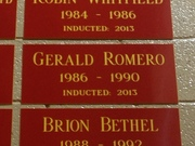 2013-INDUCTED INTO THE SIERRA HIGH SCHOOL ATHLETIC HALL OF FAME ON 2/23/13