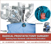 Radical Prostatectomy Surgery Defining New Standards with Robotic Procedure