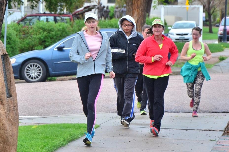 Jack Quinn's Running Club, May 5