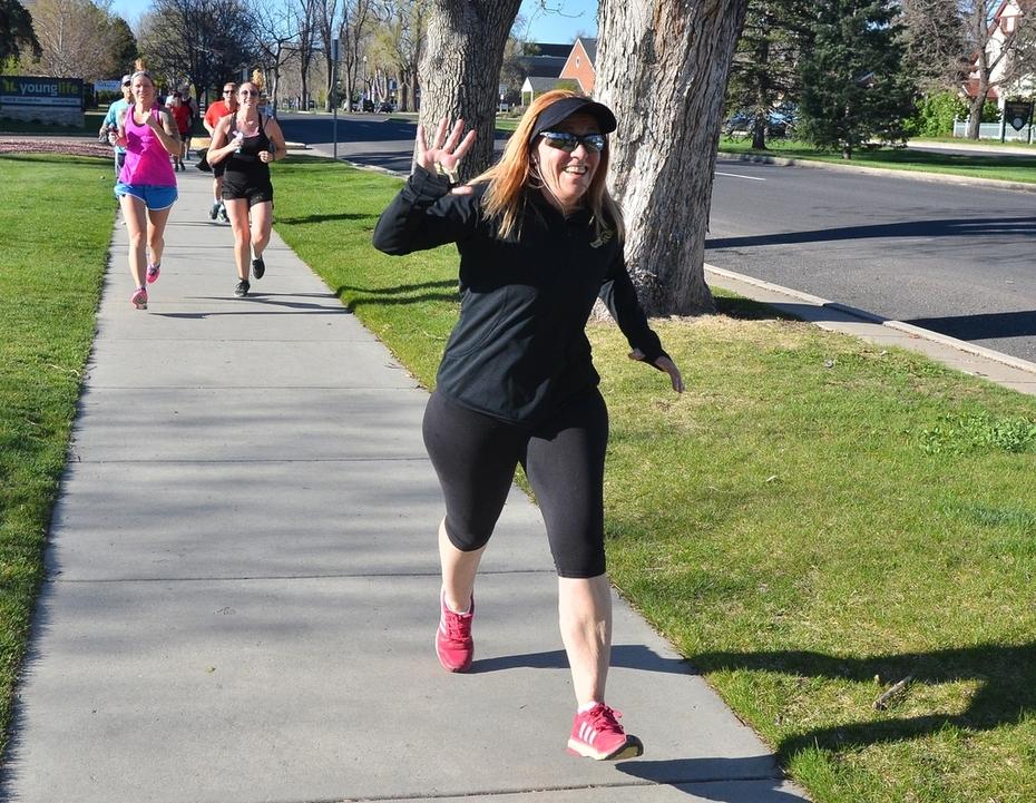 Jack Quinn's Running Club, May 3