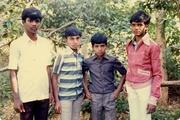 1987 Batch (L to R)  Erriswamy,  M Vijayakumar,  Venkata Swamy Bathala,  Victor Vijayakumar
