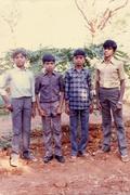 1987 Batch (L to R) Chandramohan,  Venkata Swamy Bathala,  Nagendra Gantimarri,  Ekambernath Yadiki