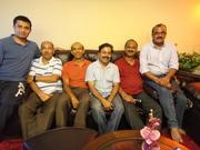 sitting left Jayasimha 94, krishnappa 78, subhash 78, phalgun 79,  OSR 82,  benergy 82