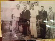 Mi padre y sus amigos.