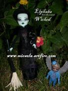 custom commission Elphaba  by Micaela Jones