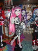 Rochelle with the Ghouls