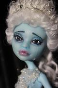 sad arctic mermaid princess