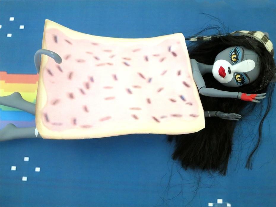 Nyan Cat + Monster High