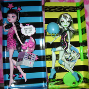 Newest additions to my Monster High Collection