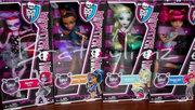 Monster High Dance Class line (Howleen, Robecca, Lagoona, and Operetta)