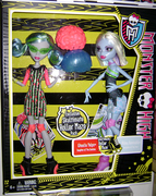 My Skultimate Roller Maze pack with Ghoulia and Abbey!