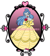 Monster High as Disney Princess