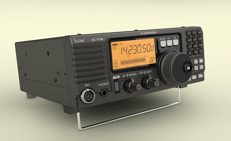 ICOM IC-718 Transceiver-2