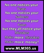 No One Notices Your..