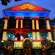 2013 Melbourne Town Hall Christmas Projections