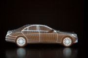 "Mercedes S-Class ""Projection Mapping"""