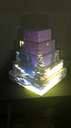 Christmas cake tower