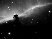 Horsehead in H-alpha