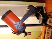 """The Original Tracking Celestron C8"""" just to """"Warm up Astro-Gab Members from Warm CANADA""""!!"""