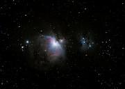 M-42, -43 and NGC-1973, -1975, -1977