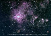 Tarantula Nebula in LMC
