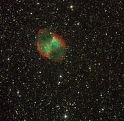 Dumbell Nebula, Messier 27