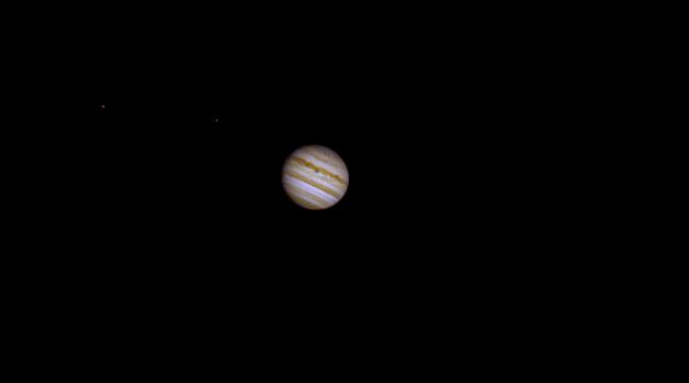 Jupiter, Ganymede & Io