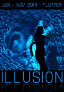 Illusion - Immersive Interactive Cinematic Art Installation