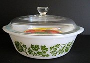 Collectible Glasbake Ovenware