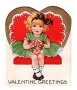 Vintage Valentine Cards And Collectibles