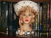 Lovely Ladies: Vintage Head Vases
