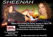 Sheenah featured artist! : Never give up until you have reached your dreams… Believe in yourself and you'll get very far