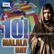 Malala Day, November 10th