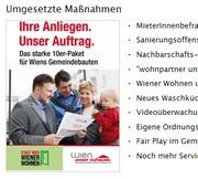 Besprechungen mit Wiener Wohnen