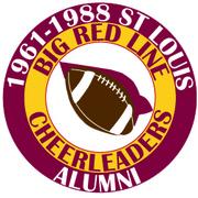 St Louis BIG RED LINE Cardinal Cheerleaders Alumni