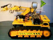 Vehículos robóticos con tracción de orugas