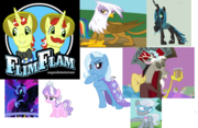 Mlp Fim Bad Guys and girls