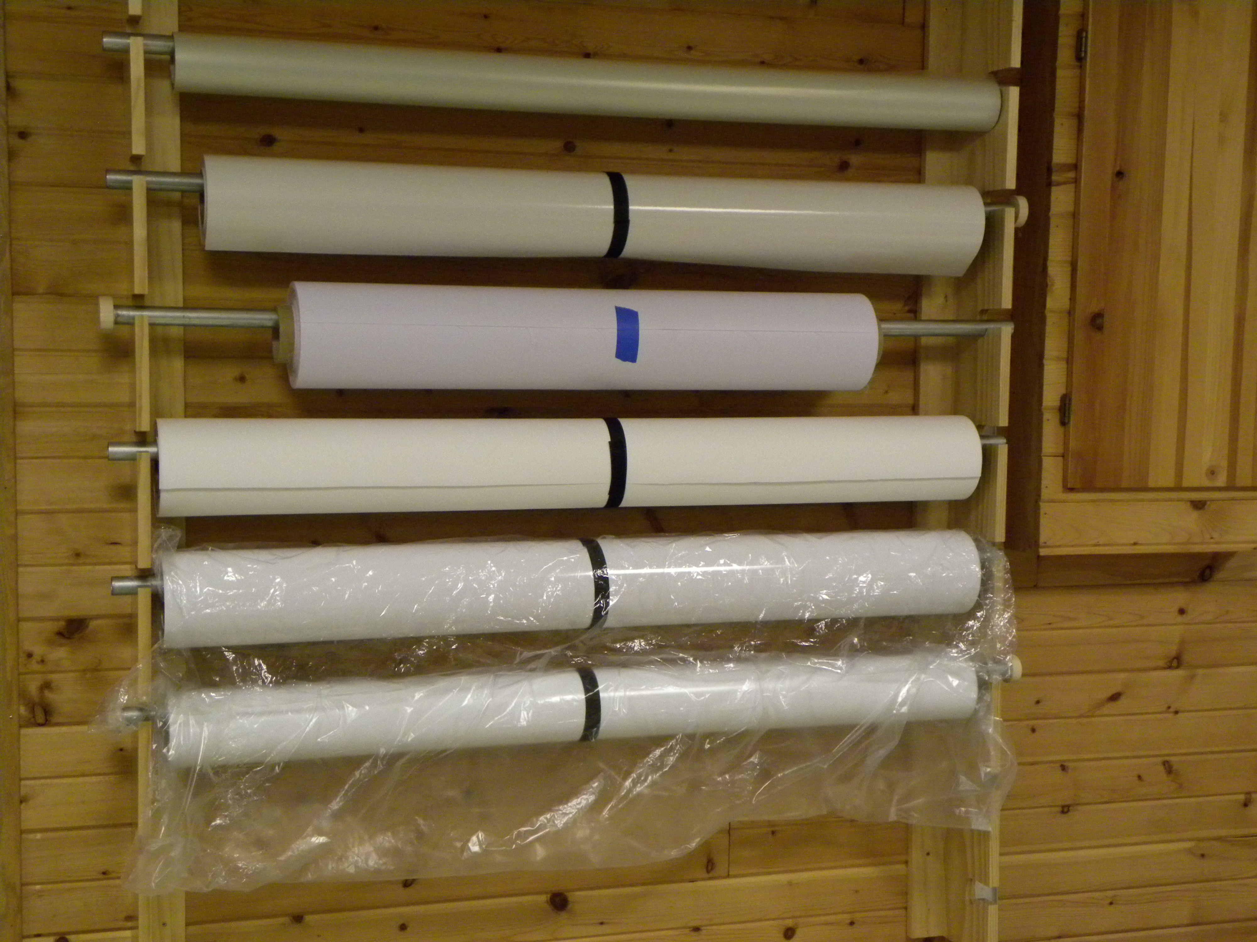 image about Printable Vinyl Rolls named Storage Designs For Vinyl and Printable Media -