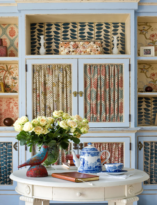 Cabinet Curtains Ultimate In Cottage I Antique Online