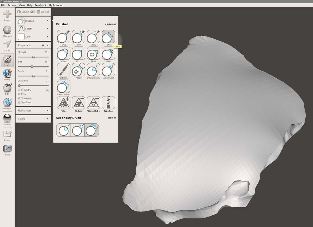 How i can do operations on Mesh file/STL file - Grasshopper