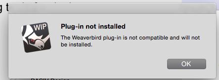 Weaverbird for the Mac - Grasshopper