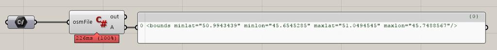OSM import error from QGIS - Grasshopper