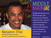 Middle Main-iac Benjamin Cruz