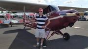 Me and 27207 at the Auburn Air Fair, Auburn, CA 2014