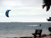 Wind surfing...