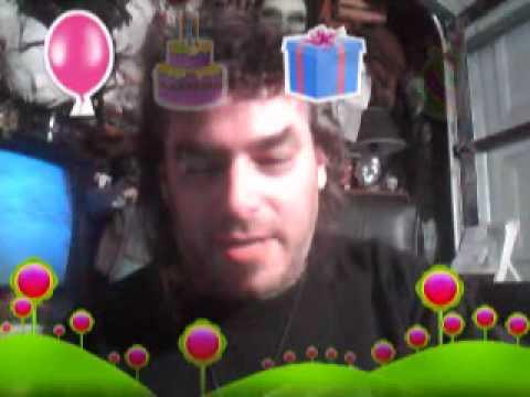 Nicholas Grabowsky late nite webcam test