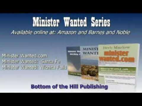 Book Video Trailer: Minister Wanted Series by Herb Marlow
