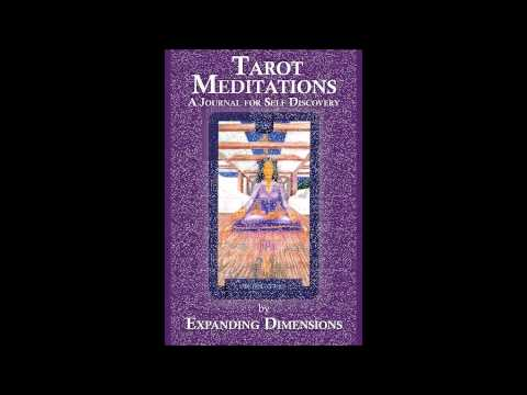 Tarot Meditations, A Journal for Self Discovery  Book Trailer