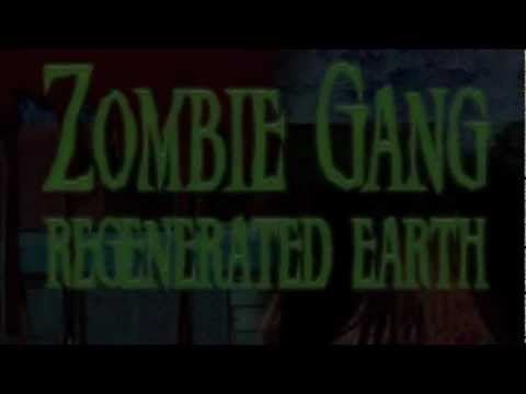 Creepy Book Trailer Zombie Gang: Regenerated Earth